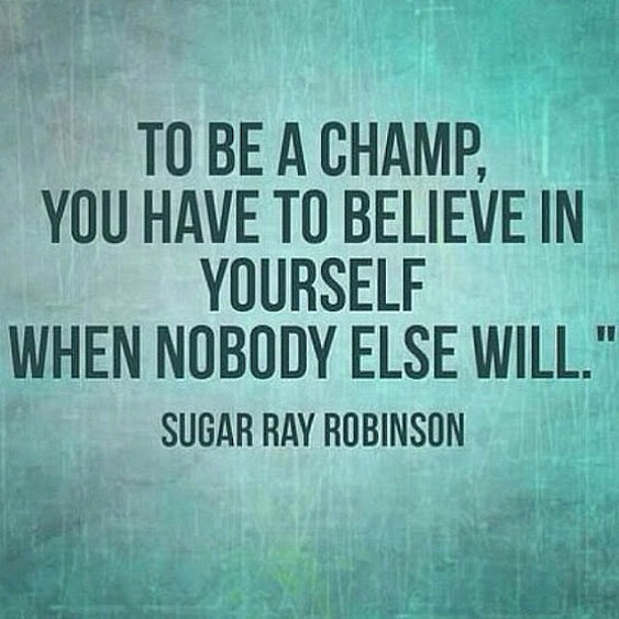 Sugar Ray Robinson Quote